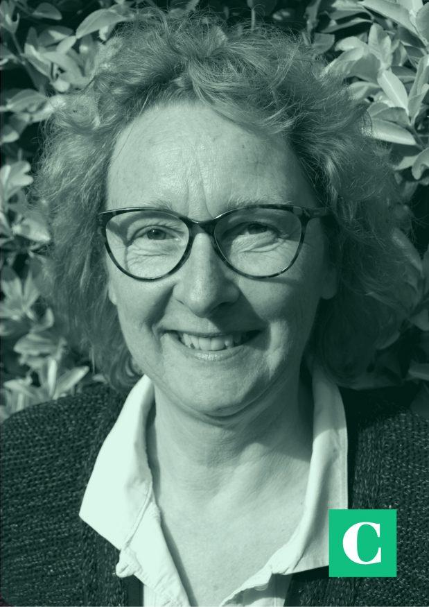 Zorgspecialist Joke van der Leij