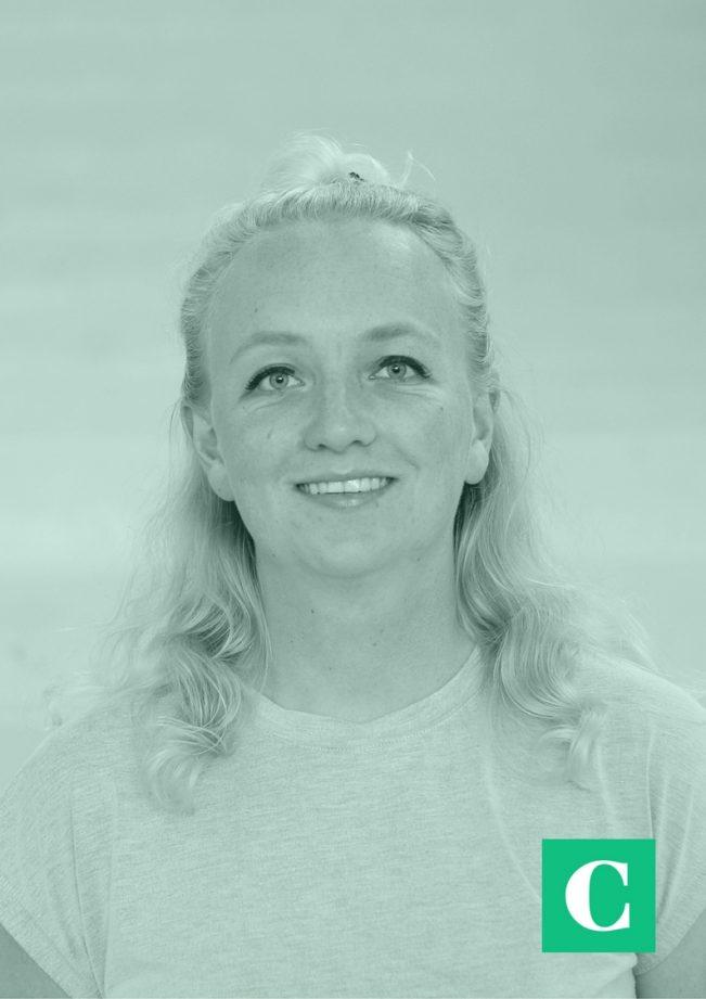 Beginnend freelancer Sophie van Oostvoorn