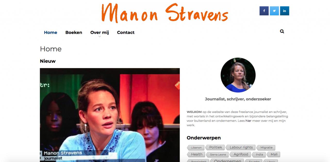 Manon Stravens